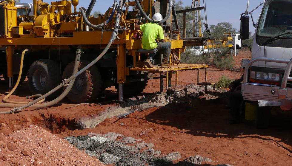 Drilling at Oban