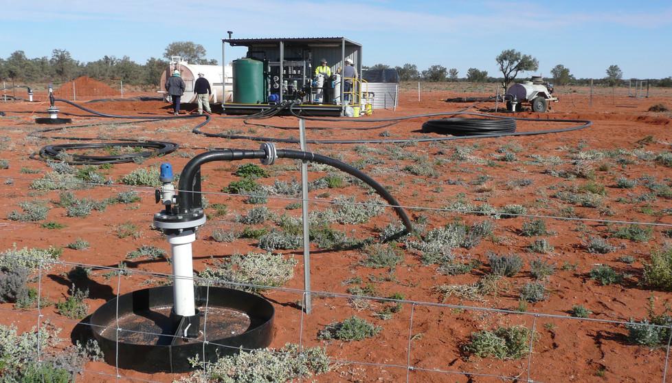 In situ recovery field trial