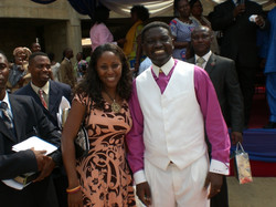 Sabina with Bishop Agyin Asare