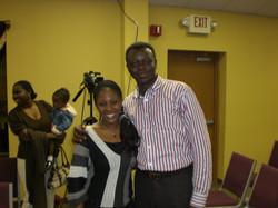 Rev. Eastwood Anaba & Sabina