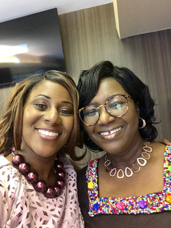 Sabina with Mama Rosemond Anaba