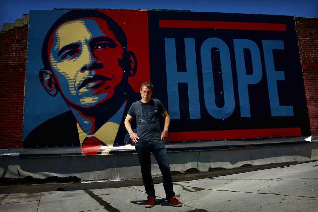 Shepard Fairey 'Hope' poster