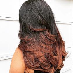 Ombre/Haircut by @kelleyscanvas