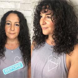Curly Haircut by @kelleyscanvas