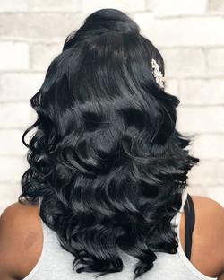 Natural Hair Fingerwaves
