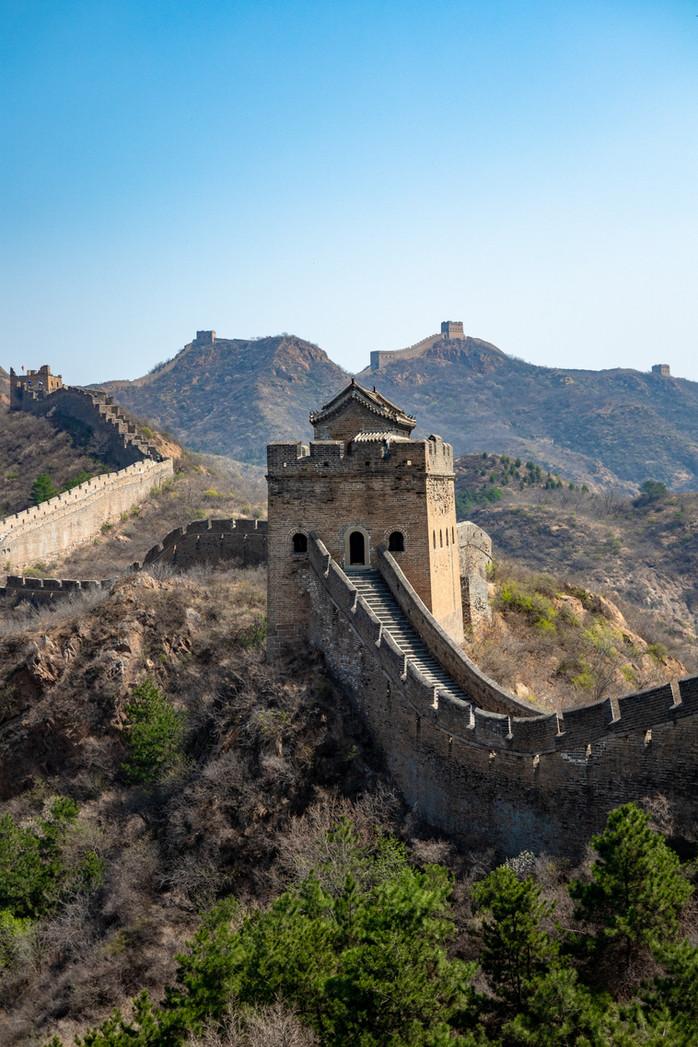 Chinesische Mauer in Jinshanling