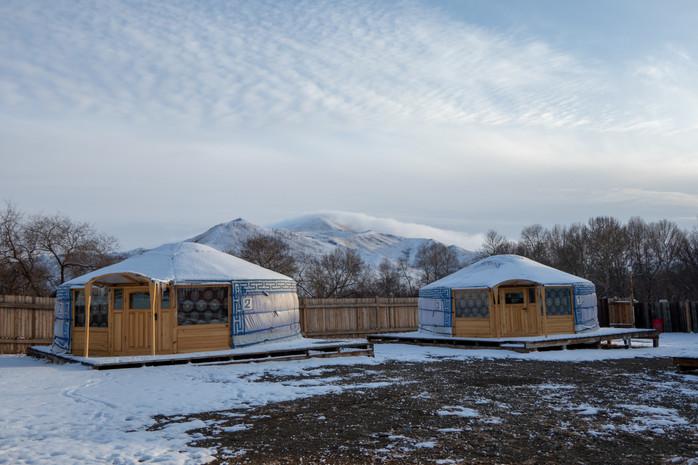 Nach dem Unfall und auf Wiedersehen, Mongolei!