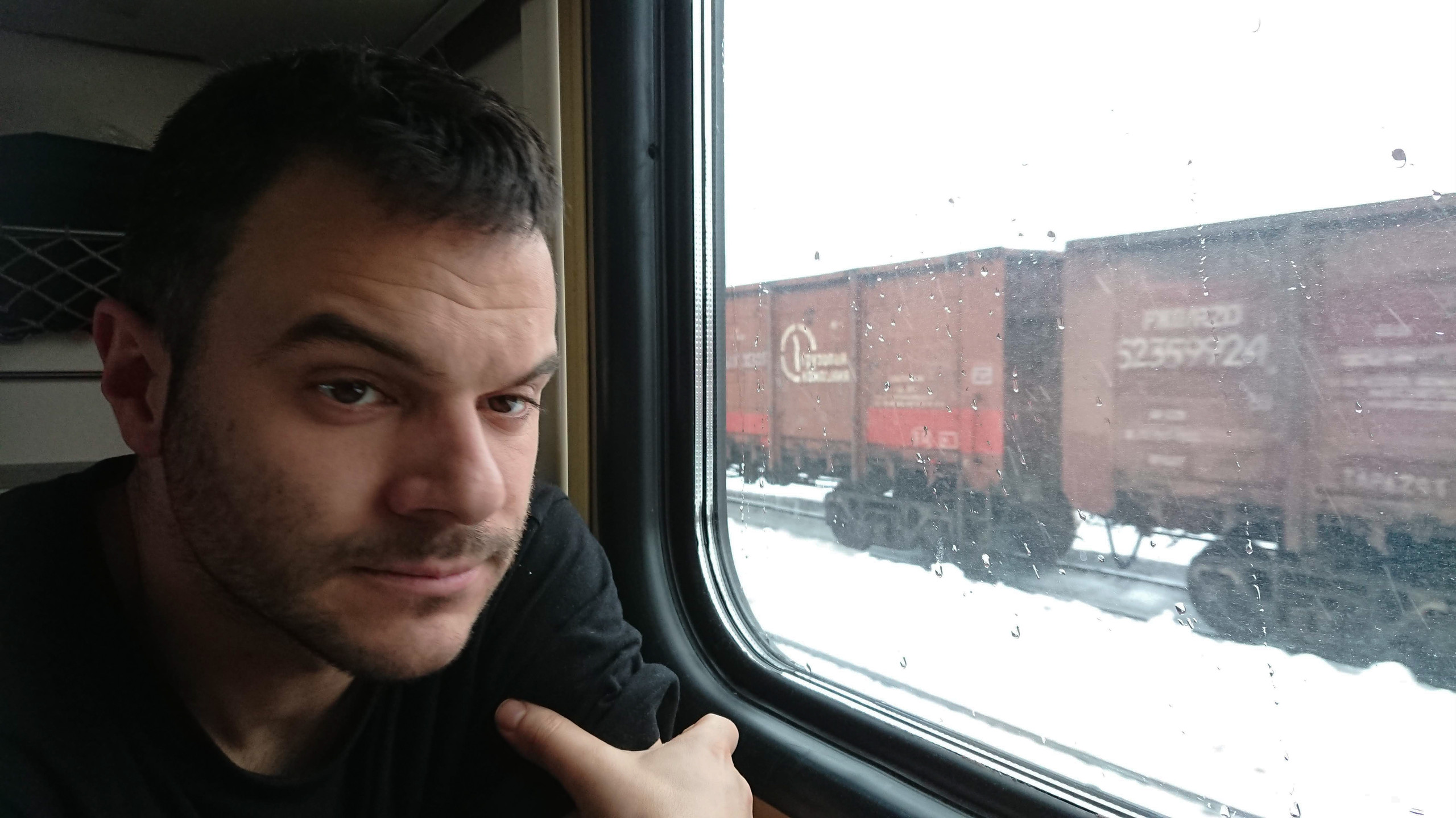 Guru im Zug