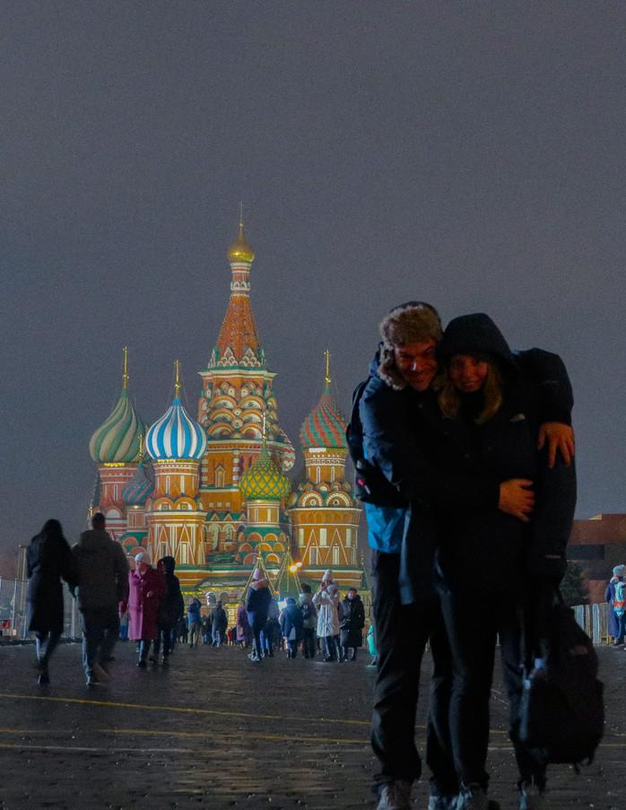 Moskau, die Prachtvolle