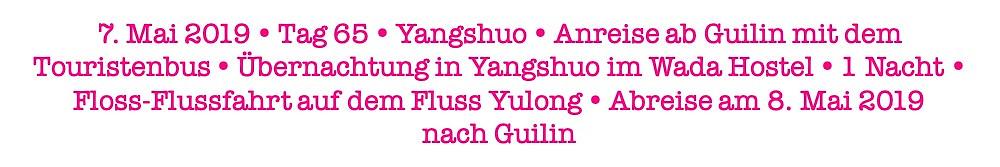 Facts Yangshuo