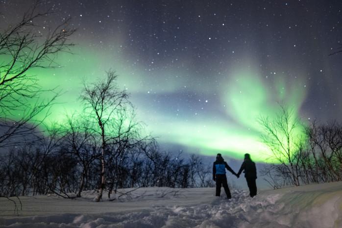 Aurora Village – Letzte Chance Aurora Borealis zu beobachten