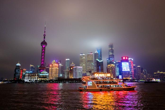 Neuntausend Kilometer weit weg in Shanghai