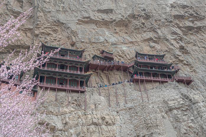 Das Hängende Kloster von Hunyuan