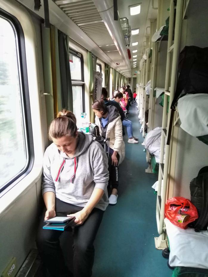 Härteste Zugfahrt aller Zeiten: Von Shanghai nach Zhangjiajie