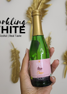 Mini Organic Sparkling White Non-alcoholic  200ml