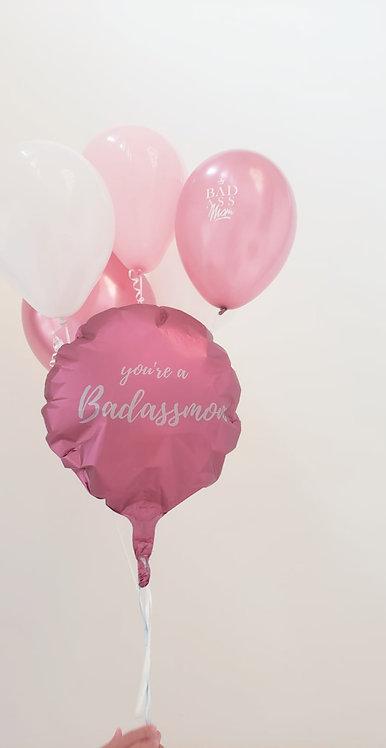 badassmom balloon set