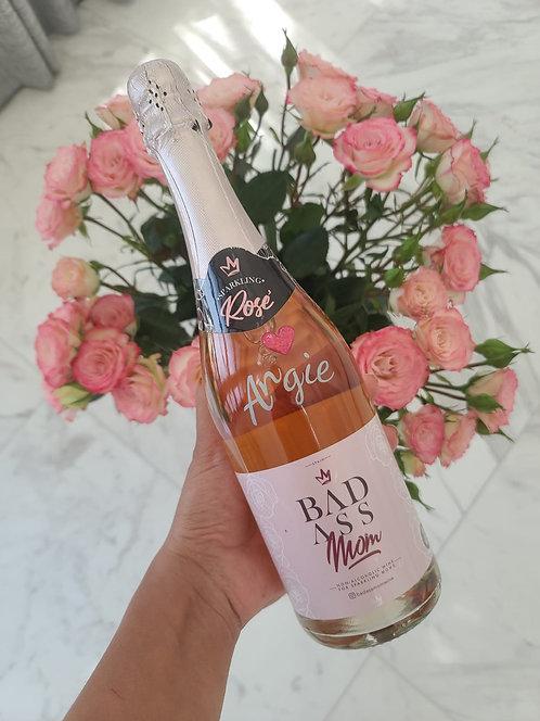 Personalized Non-Alcoholic Sparkling Rosé 750 ml