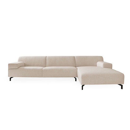 DOME DECO Loungesofa Lugano MIL Cream