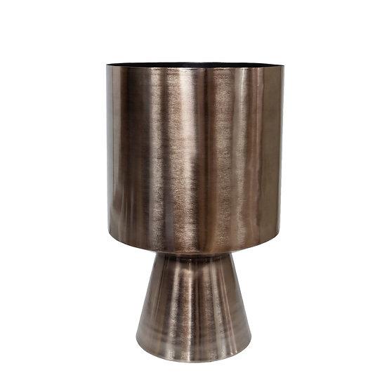 DOME DECO Pflanzgefäß Bronze / Aluminium