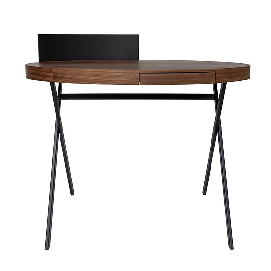 DOME DECO Schreibtisch Plato, oval