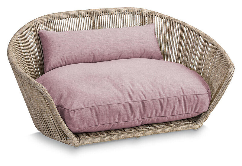 LABONI Vogue - Design-Hundebett - Chic -Rose