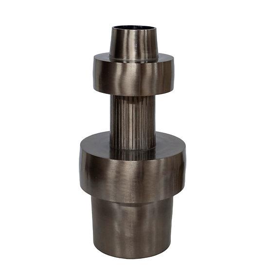 DOME DECO Aluminium Vase Silver