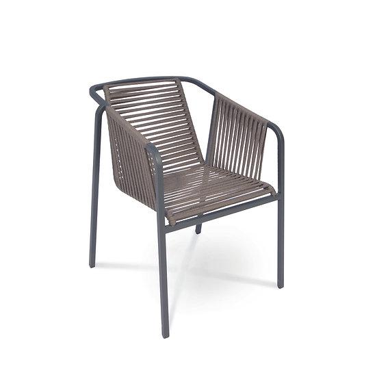 FISCHER MÖBEL Suite Sessel (basalt)