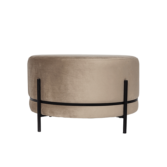 DOME DECO Hocker Baba Mousse