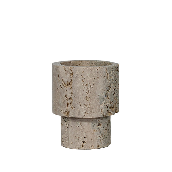 DOME DECO Vase Marble - Cream S