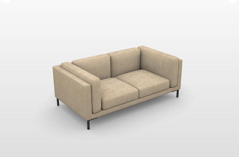 DUVIVIER CANAPES Albert petit  2-Sitzer Sofa