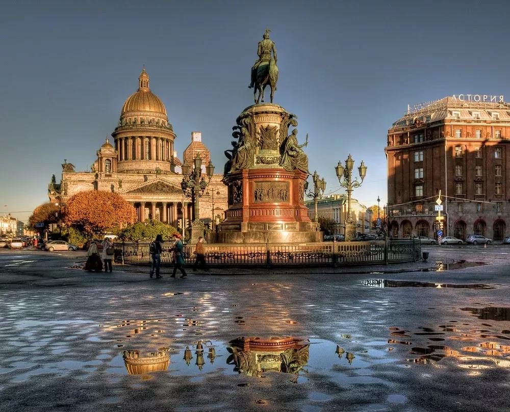 Петербург перед второй волной