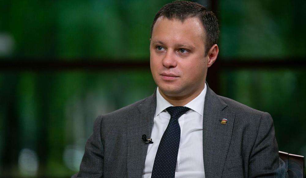 Депутат ЗакСа Петербурга Денис Четырбок