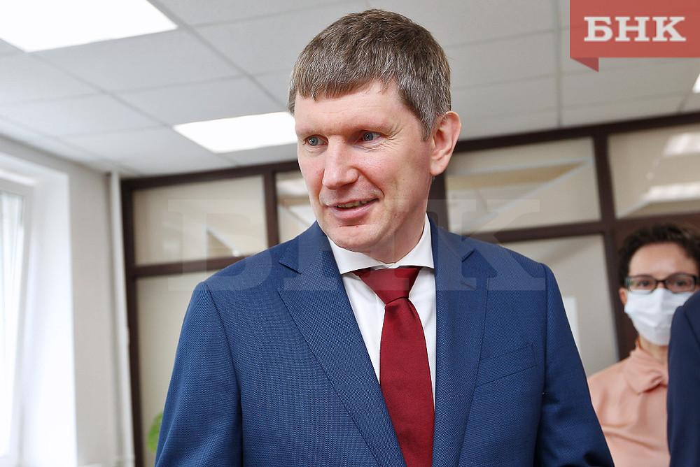 Максим Решетников в поездке в Коми