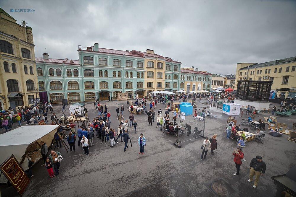 """В 2018 году во внутреннем пространстве БГД проходил фестиваль """"Живые улицы"""""""