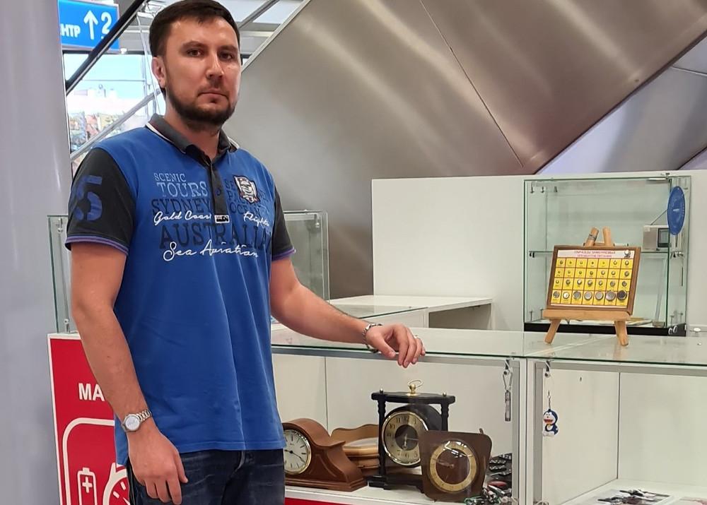 Сергей Кизирьянц, предприниматель и владелец сети точек по ремонту часов в ТК