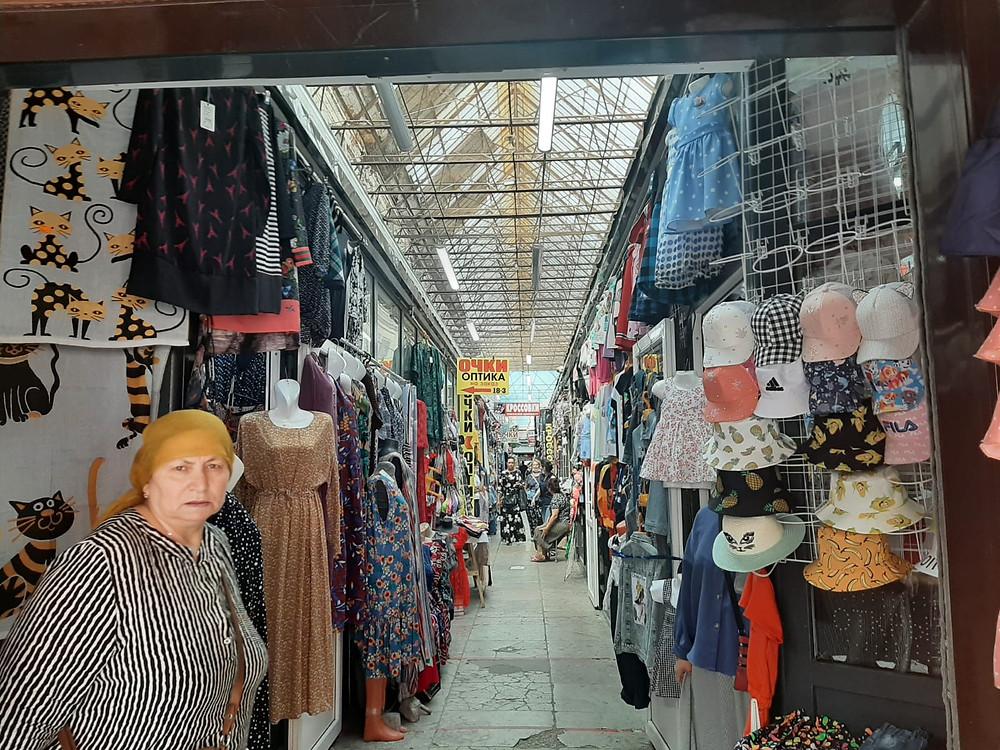 Вполне приличный рынок - как в Анталии
