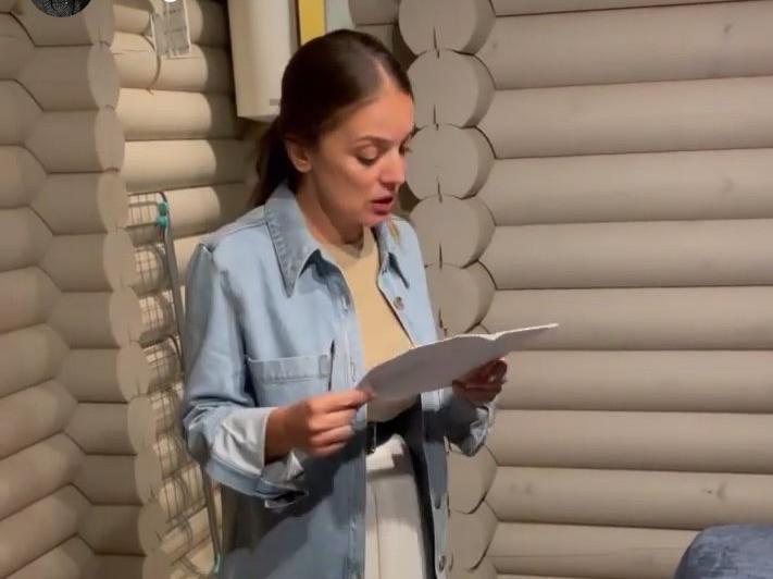 Зарина Догузова, глава Ростуризма в отеле в Анапе