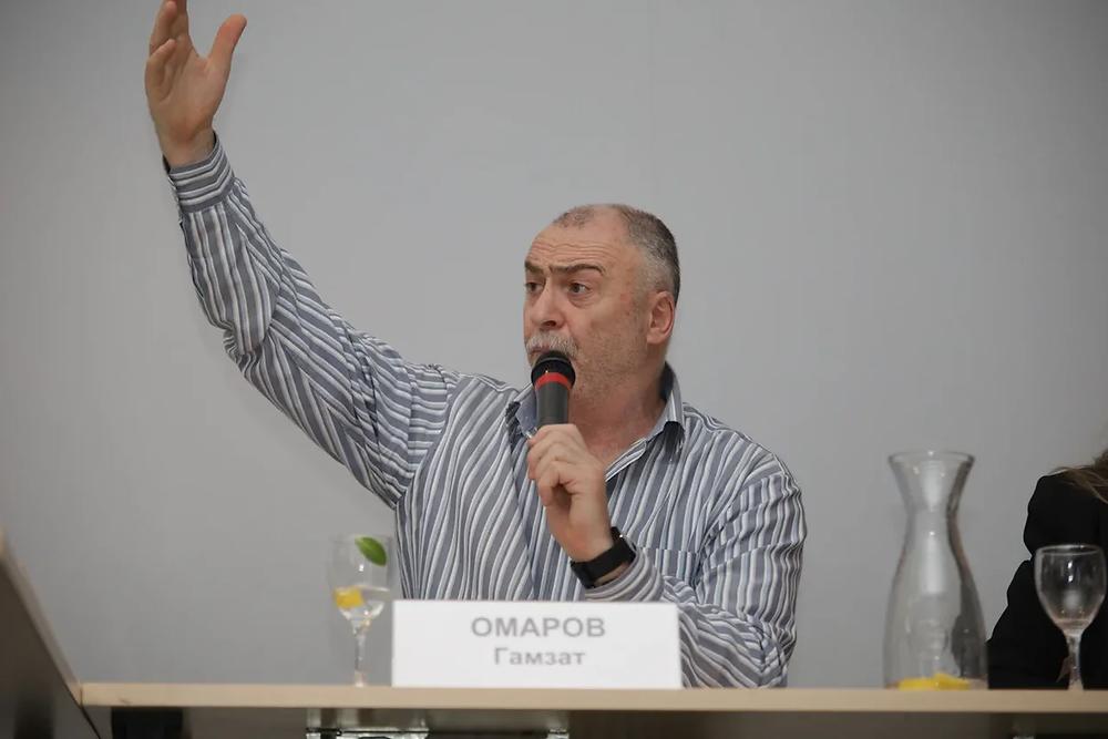 """Гамзат Омаров: """"Мы сильны, когда мы все вместе!"""""""