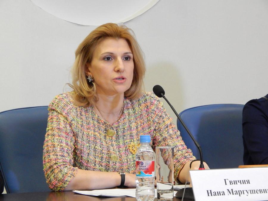 Нана Гвичия, зампредседателя комитета по развитию туризма