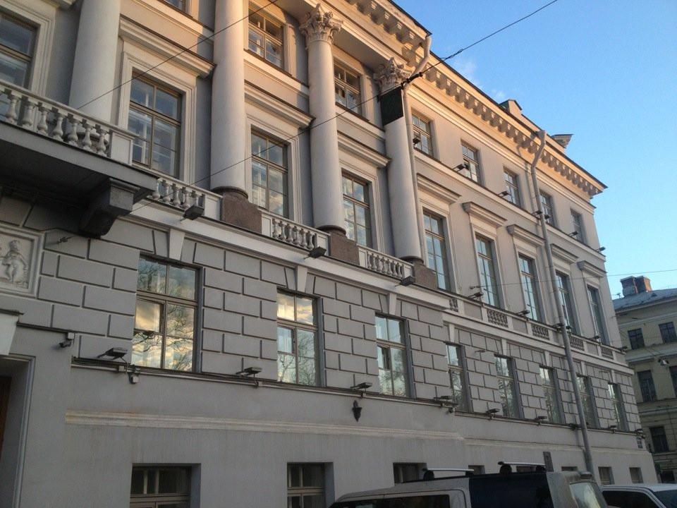 Здание Росимущества в Петербурге на Гороховой улице