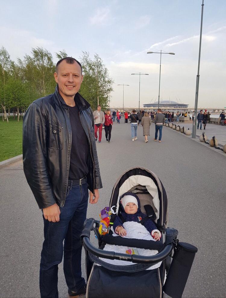 Александр Коновалов с сыном