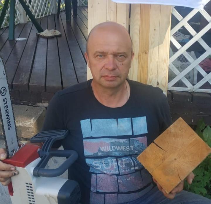 Вадим Тихонов, основатель Содружества самозанятых плотников Петербурга и Ленинградской области