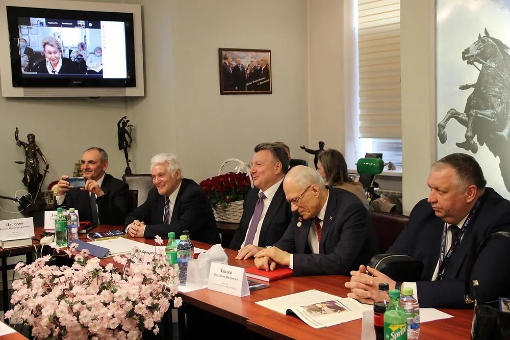 Сергей Дмитриенко, Валерий Бейленсон, Александр Абросимов и Дмитрий Курдесов