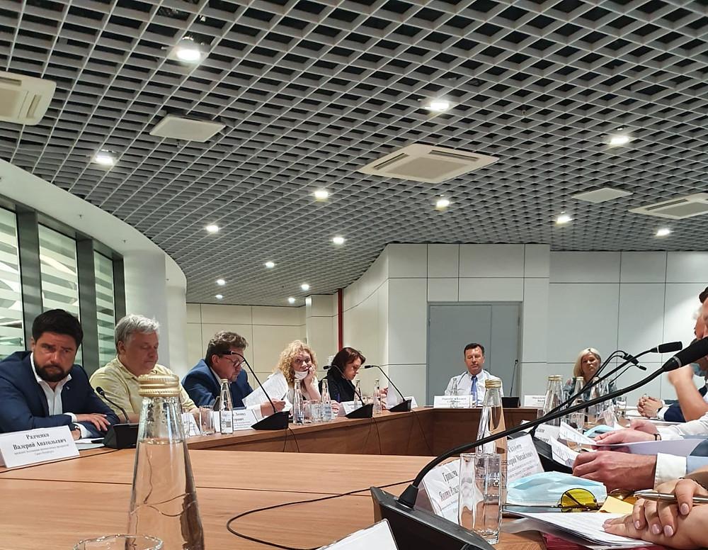 Заседание Общественного совета при КИО