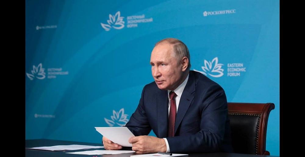 Владимир Путин на ВЭФ, во Владивостоке