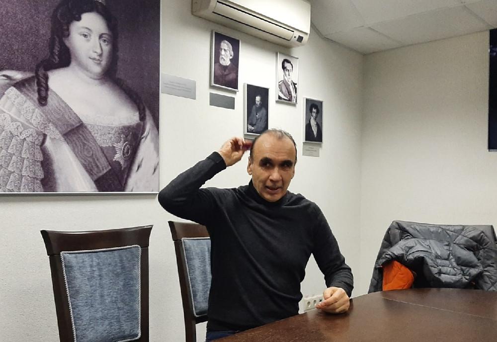 Виктор Питернов, владелец гостиницы Cronwell Inn Stremyannaya