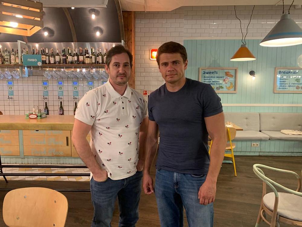 Предприниматель Дмитрий Якушин и депутат Сергей Боярский