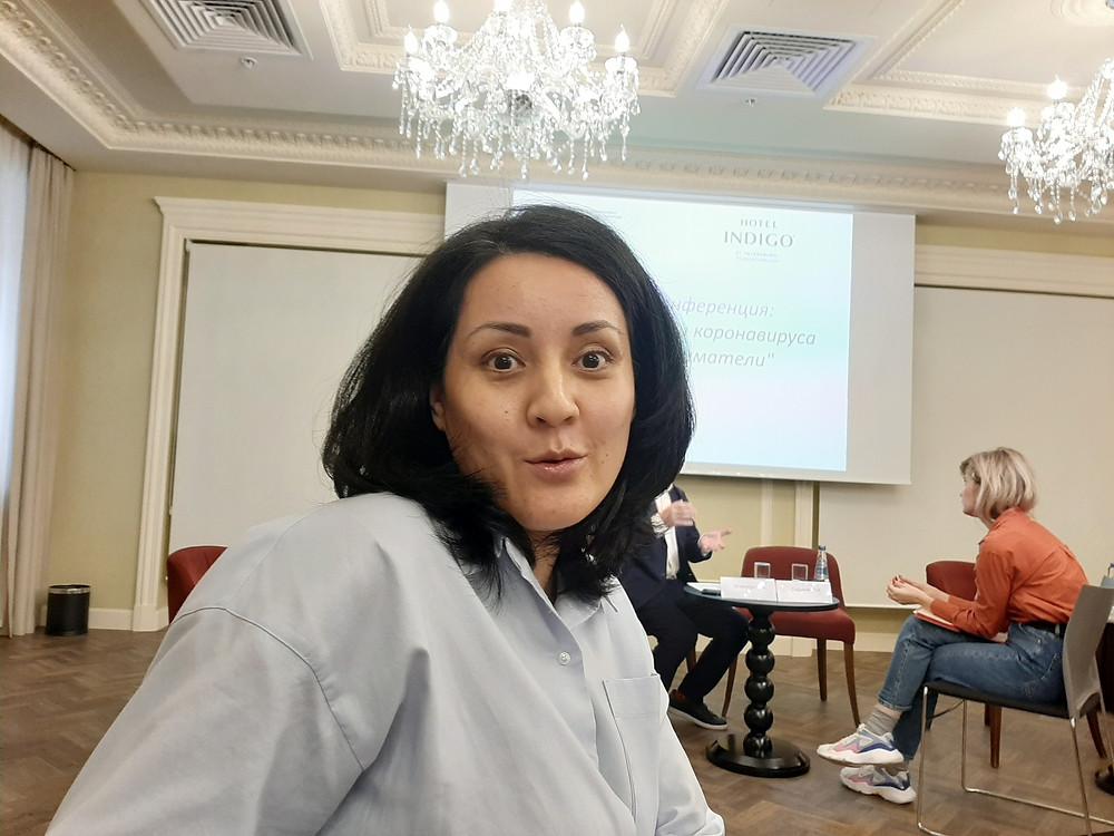 Лялья Садыкова, владелица салонов красоты