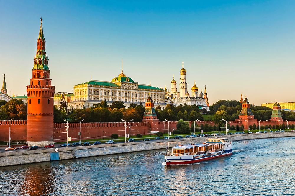 Москва тоже востребована у туристов, причем, круглогодично