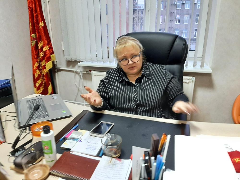 """Янина Гришина, РОО """"Содействие малому бизнесу"""""""